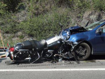 What are the differences between a motorcycle accident and a car accident